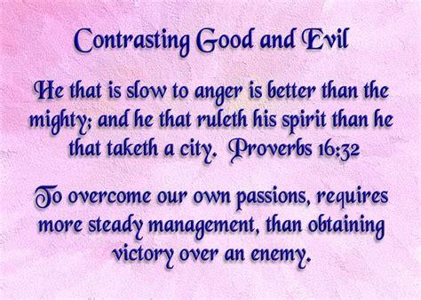 good  evil bible quotes quotesgram