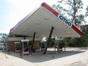 Gasoline Station Canopy by Post Disaster Investigation Hurricane Katrina