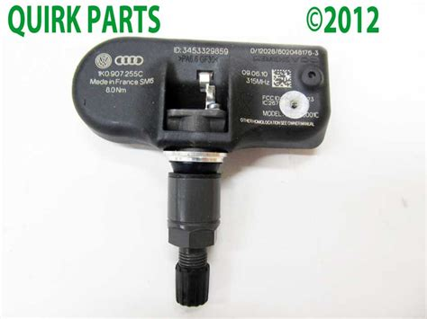 tire pressure monitoring 2010 volkswagen passat electronic toll collection vw volkswagen tire pressure sensor tpms jetta passat tiguan golf rabbit oem new ebay