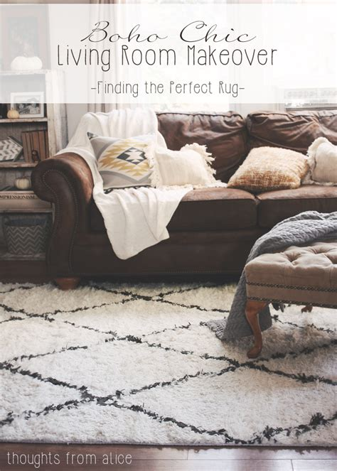 best rugs for living room boho chic living room makeover finding the perfect rug