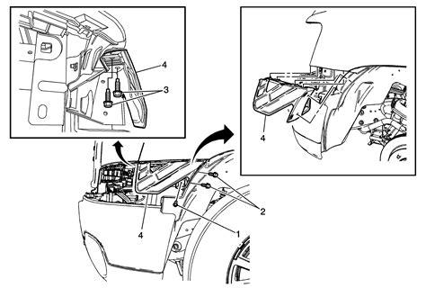 service manual pdf 2011 chevrolet silverado 3500 body repair manual pdf 2011 chevrolet repair instructions front bumper fascia side bracket replacement gmc 2014 chevrolet