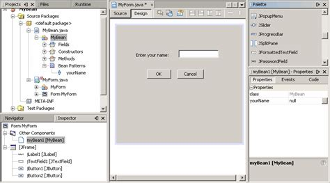 gui design tutorial java lesson using the netbeans gui builder the java