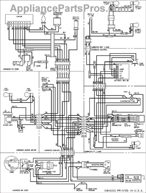 parts for amana acd2234hrs wiring information parts