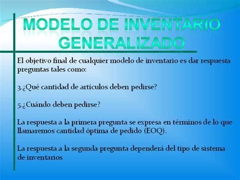 preguntas y respuestas sobre inventarios sistemas de inventarios ii monografias