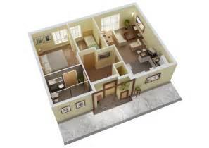3 Bedroom Villa Floor Plans