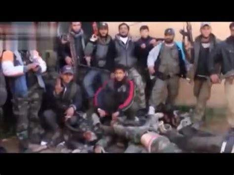 bbc news face to face with abu sakkar syrias heart eating cannibalisme d asl al farouq abu sakkar le cannibale