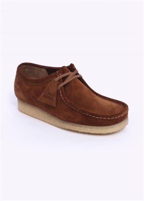clarks originals wallabee shoes cola