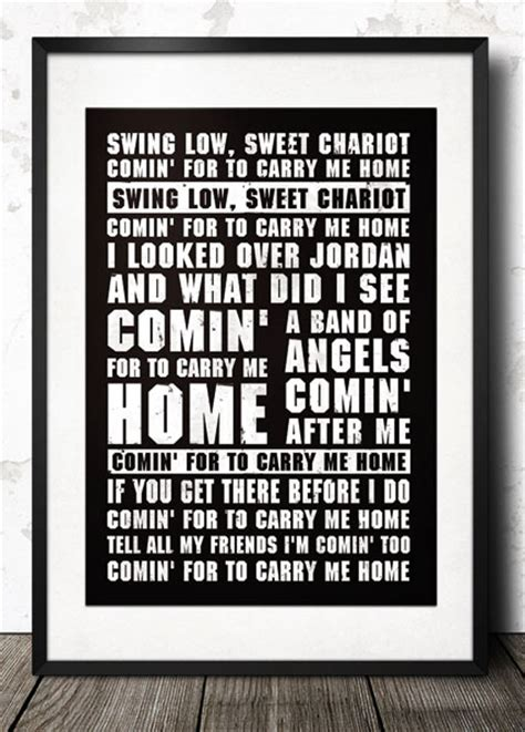 swing low sweet chariot lyrics rugby england rugby song lyrics poster magik city cool t