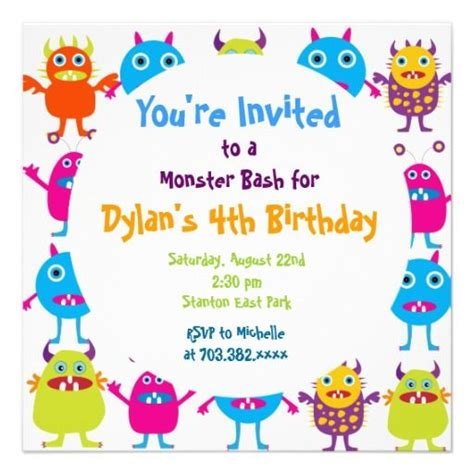 birthday invitation templates for word 2007 images