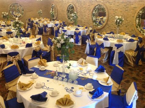 Royal Blue And Gold Decorations by Royal Blue And Gold Wedding Decorations Www Imgkid