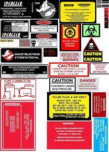 Proton Pack Labels Pin By Lori Gonzales On