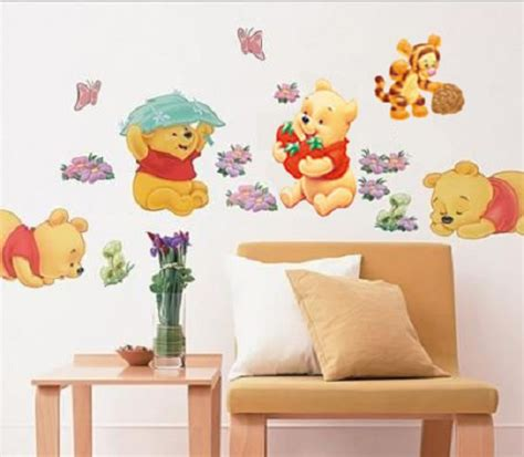 winnie the pooh home decor winnie the pooh wall decals tigger animal kids room