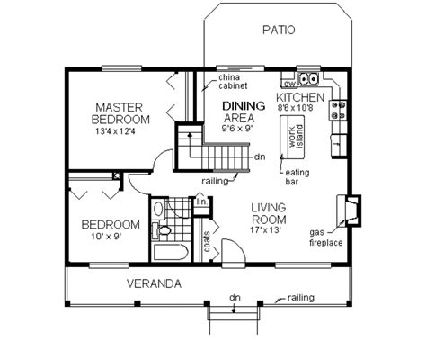 drawing of 2 bedroom house sketchup interior drawing featuring 2d house plan and