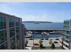 View from room balcony - Picture of Seattle Marriott ... Waterfront Hotels Seattle Wa