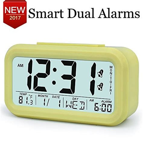 Best Alarm Clock For Light Sleepers by Txl Electronic Alarm Clocks For Heavy Sleepers Easy To Set