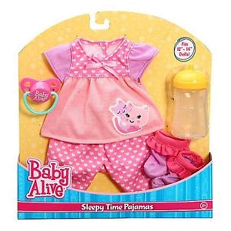 In The Bottle By Maxcyber Cloth sale baby alive clothes pjs with pacifier and