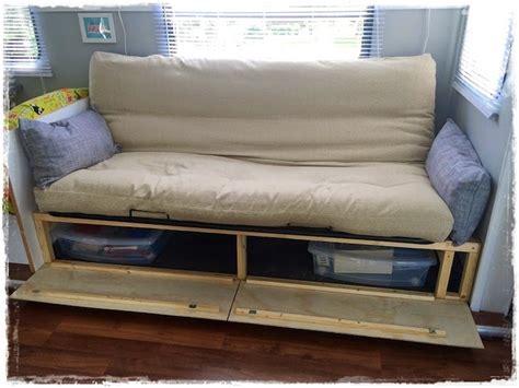 diy storage sofa diy sofa with storage www pixshark com images