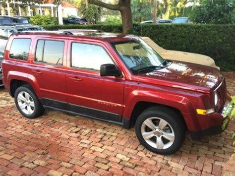 2011 Jeep Patriot Latitude X Find Used 2011 Jeep Patriot Latitude X Sport Utility 4
