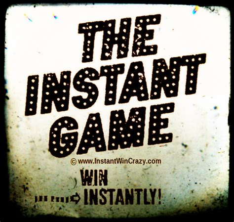 Instant Win Games Online - what is an instant win game or sweepstakes