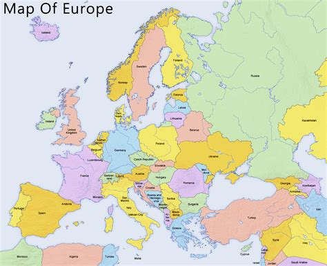 map europe map of europe chameleon web services