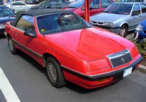 Dodge Lebaron Convertible File Chrysler Lebaron Convertible Jpg Wikimedia Commons