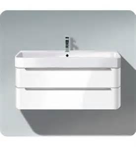 Vanity Planet Europe Duravit H2636505252 Happy D 2 Wall Mounted Modern Bathroom