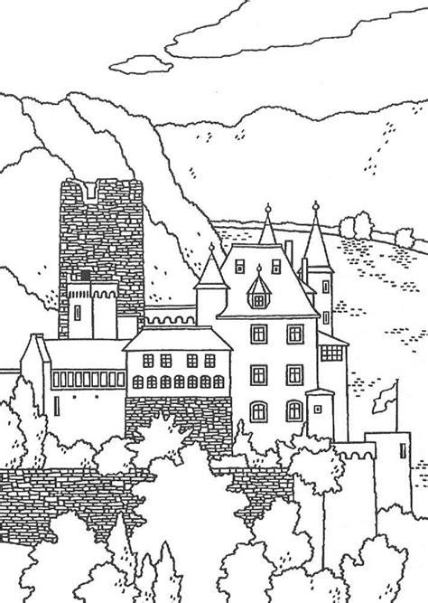 neuschwanstein castle coloring page great castles games castle coloring book