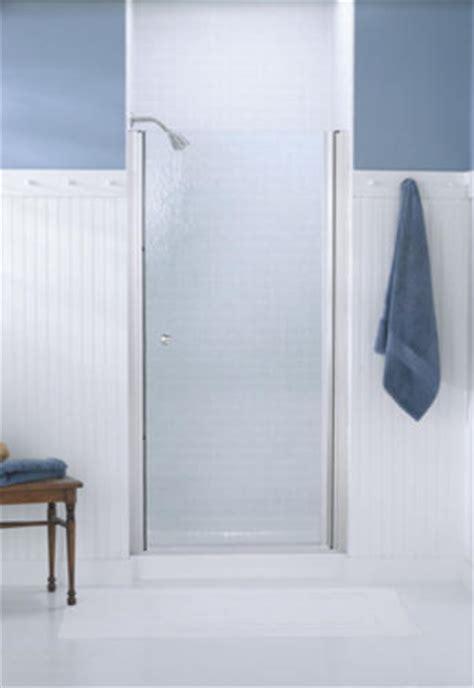 Sterling Frameless Shower Doors Sterling Finesse Frameless Hinge Shower Door