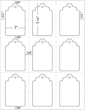 Gift Tags Template Word Business Letter Template Tags For Presents Templates