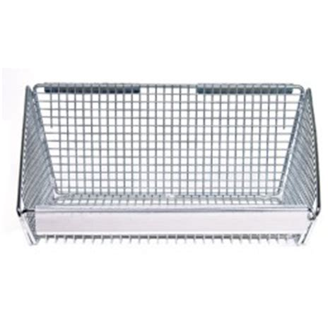 Wire Rack Label Holder by Chrome Wire Shelving Baskets Clear Label Holder Blh000