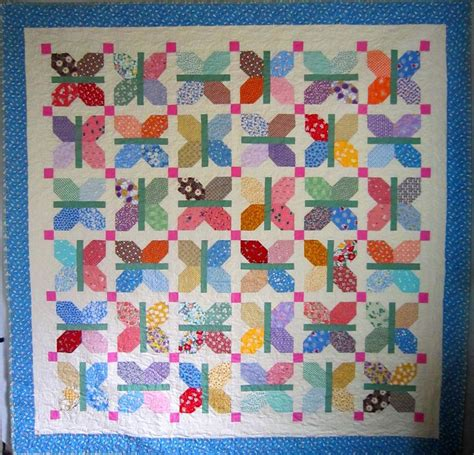 flutter vintage quilt pattern by mcdowell craftsy