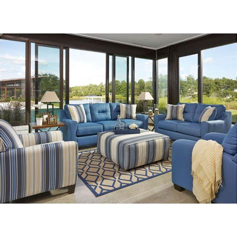 ashley furniture blue couch ashley furniture blue sofa best furniture mentor oh ashley
