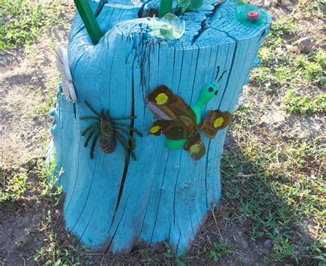 Garden Tree Decoration Ideas by 20 Recycle Tree Stump Ideas Page 2 Of 3