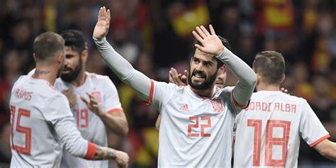 hasil pertandingan spanyol vs argentina skor 6 1 bola net