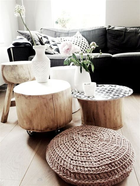 living room trunks bring raw beauty into your home with tree trunk tables
