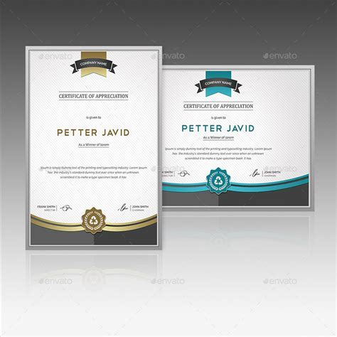 psd certificate template best modern editable certificates template 2016 designs hub