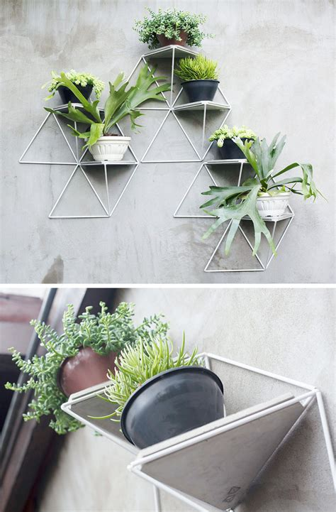 wall hanging planters 10 modern wall mounted plant holders to decorate bare