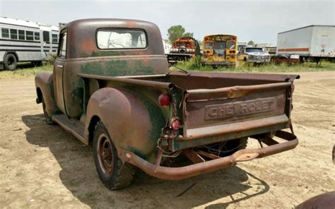 chevy truck        rat hot rod patina custom chopped bagged classic