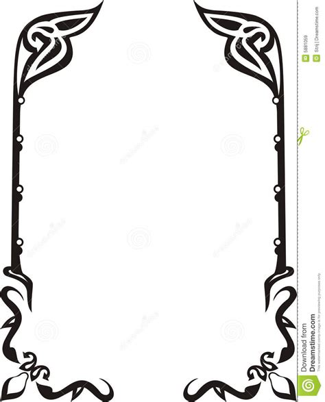 Monogram Ideas by Ornament Frame Stock Vector Image Of Ornate Revival