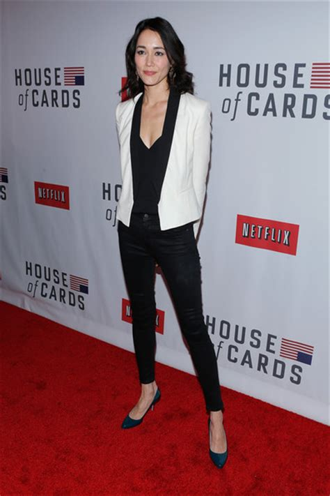House Of Cards Premiere by Sandrine Holt In Netflix S Quot House Of Cards Quot New York