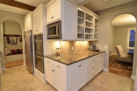 kitchen built in bench tropic brown granite kitchen traditional with bench built