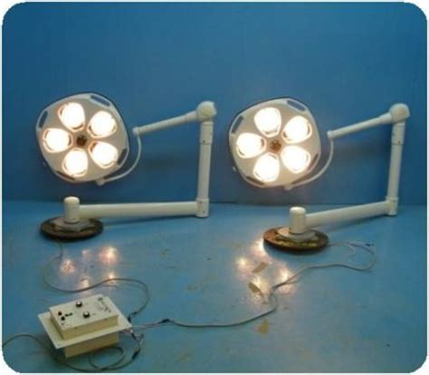 surgical lights for sale used skytron stellar series st23 dual ceiling mounted