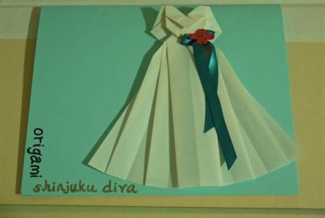 How To Make Origami Wedding Dress - make you a pair of origami wedding dress and suit