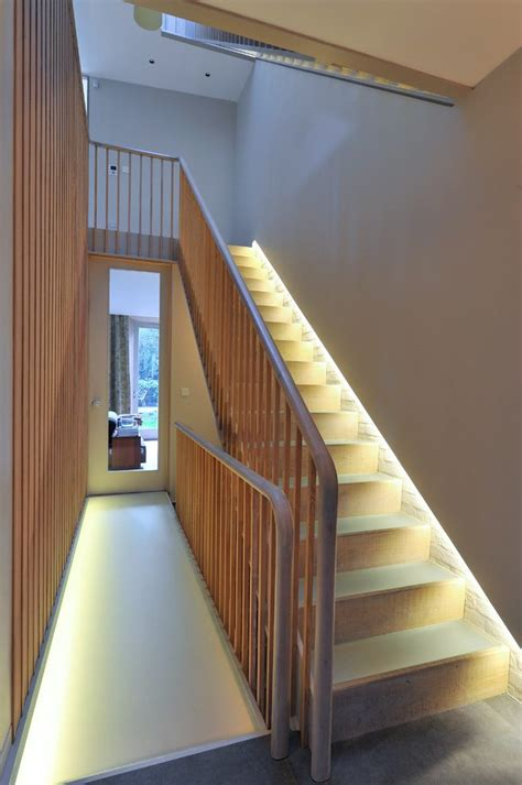 Banister Lights by Staircase Lighting Ideas Staircase Modern With Painted