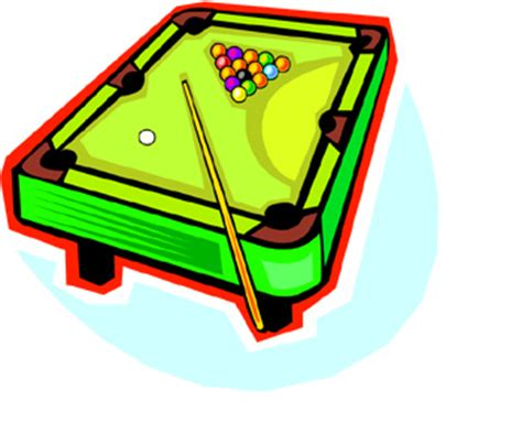 pool table clipart pool table cliparts co
