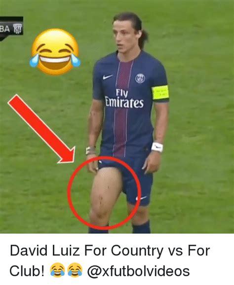 David Luiz Meme - ba rt emirates david luiz for country vs for club