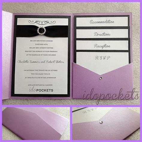 Diy pocket wedding invitations to bring your dream wedding invitation