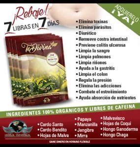 Te Divina Detox Tea Real Reviews by Te Divina Quot The Original Detox Tea Formula Quot Up To 7
