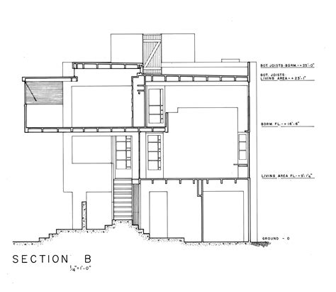 www section a kitchen proposal for schindler s lovell beach house