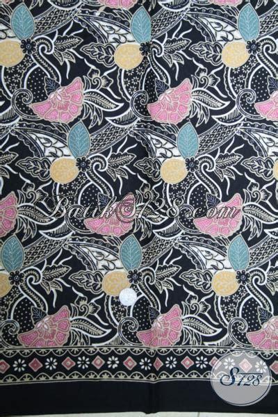 Diskon Kain Batik Meteran Modern Bunga Cantik Terbaru tempat khusus beli batik berkwalitas harga terjangkau sedia batik kain modern motif bunga